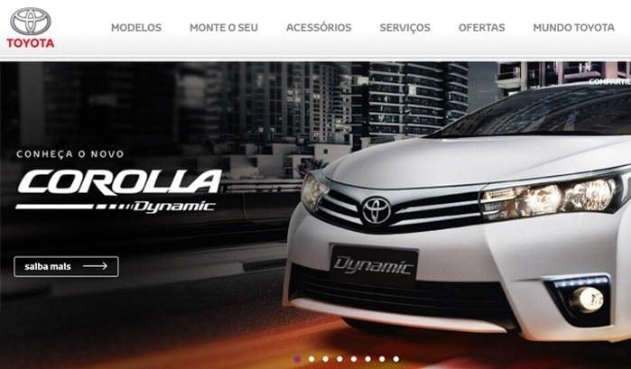 موقع تويوتا البرازيل