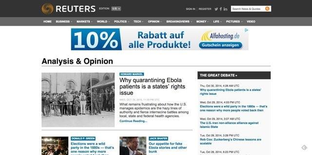 وكالة رويترز للأنباء