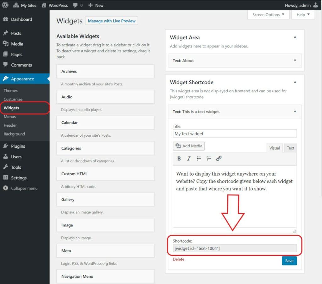4 – إضافة Image Widget إضافات الووردبريس للمواقع الفوتوغرافية