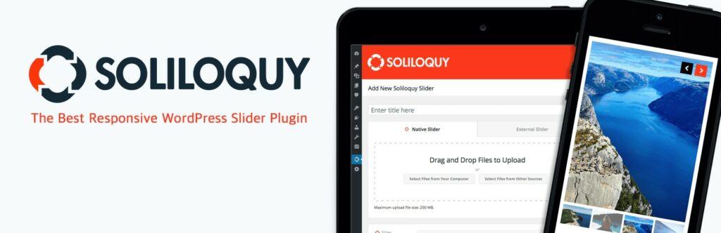 6 – إضافة Soliloquy إضافات الووردبريس للمواقع الفوتوغرافية