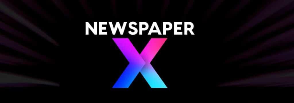 7 – قالب newspaper