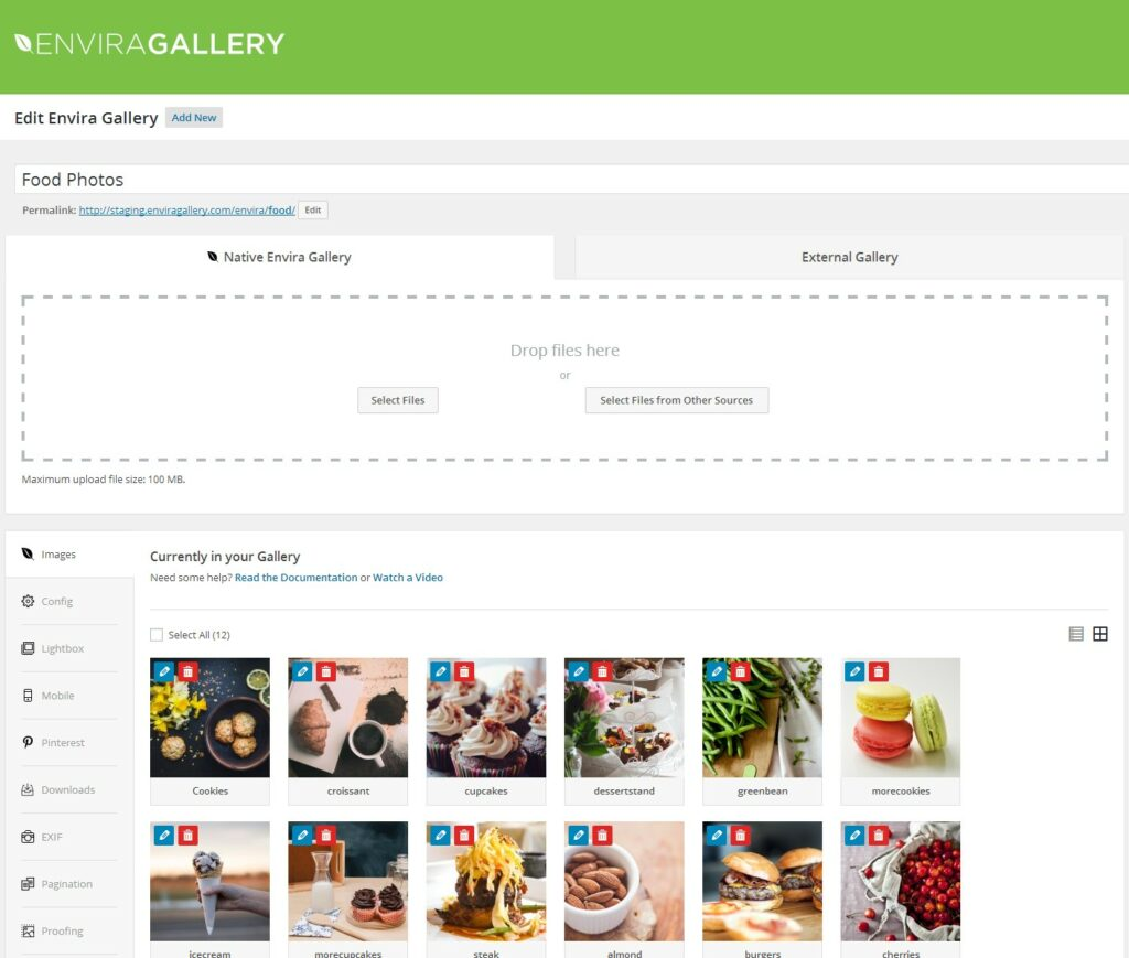 9– إضافة Envira Gallery