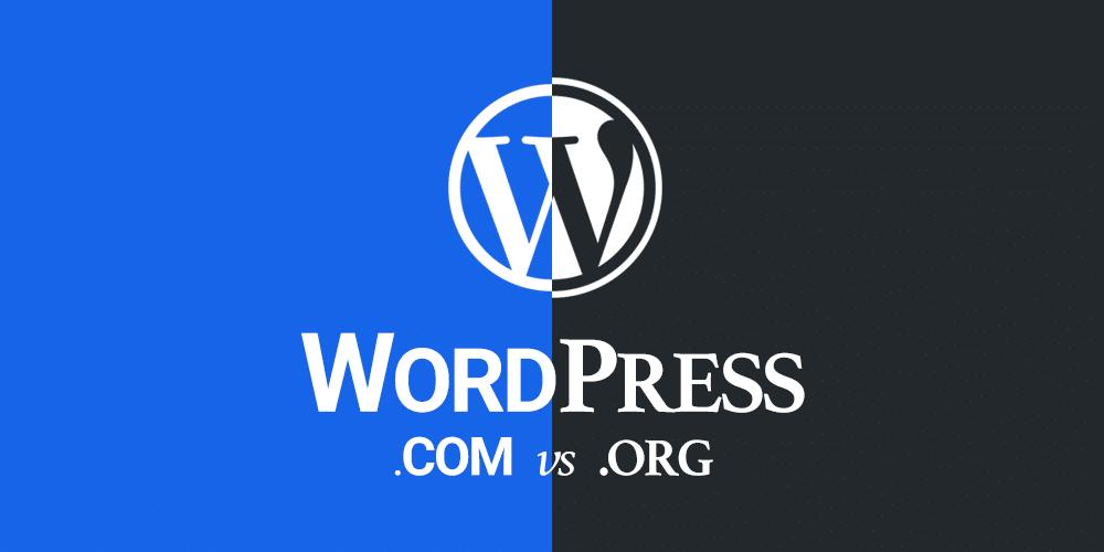 الفرق بين WordPress.org و WordPress.com