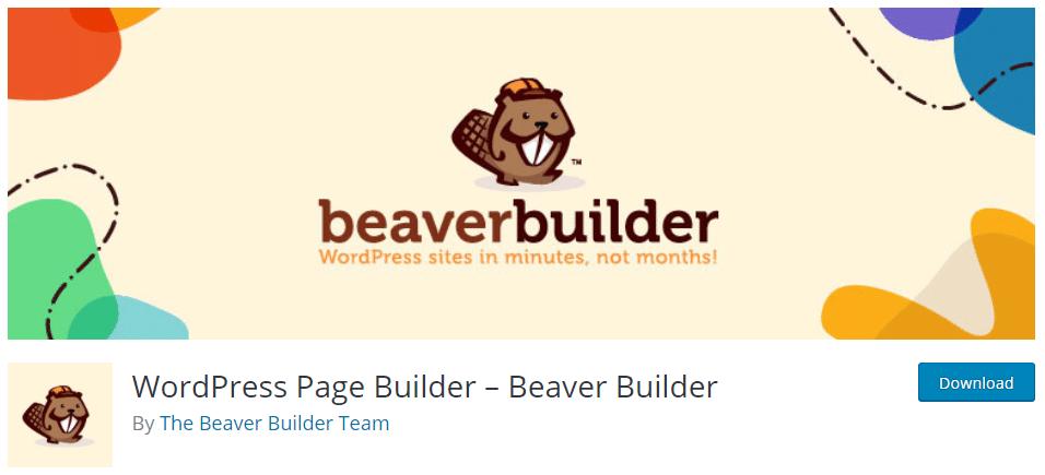 إضافة Beaver Builder
