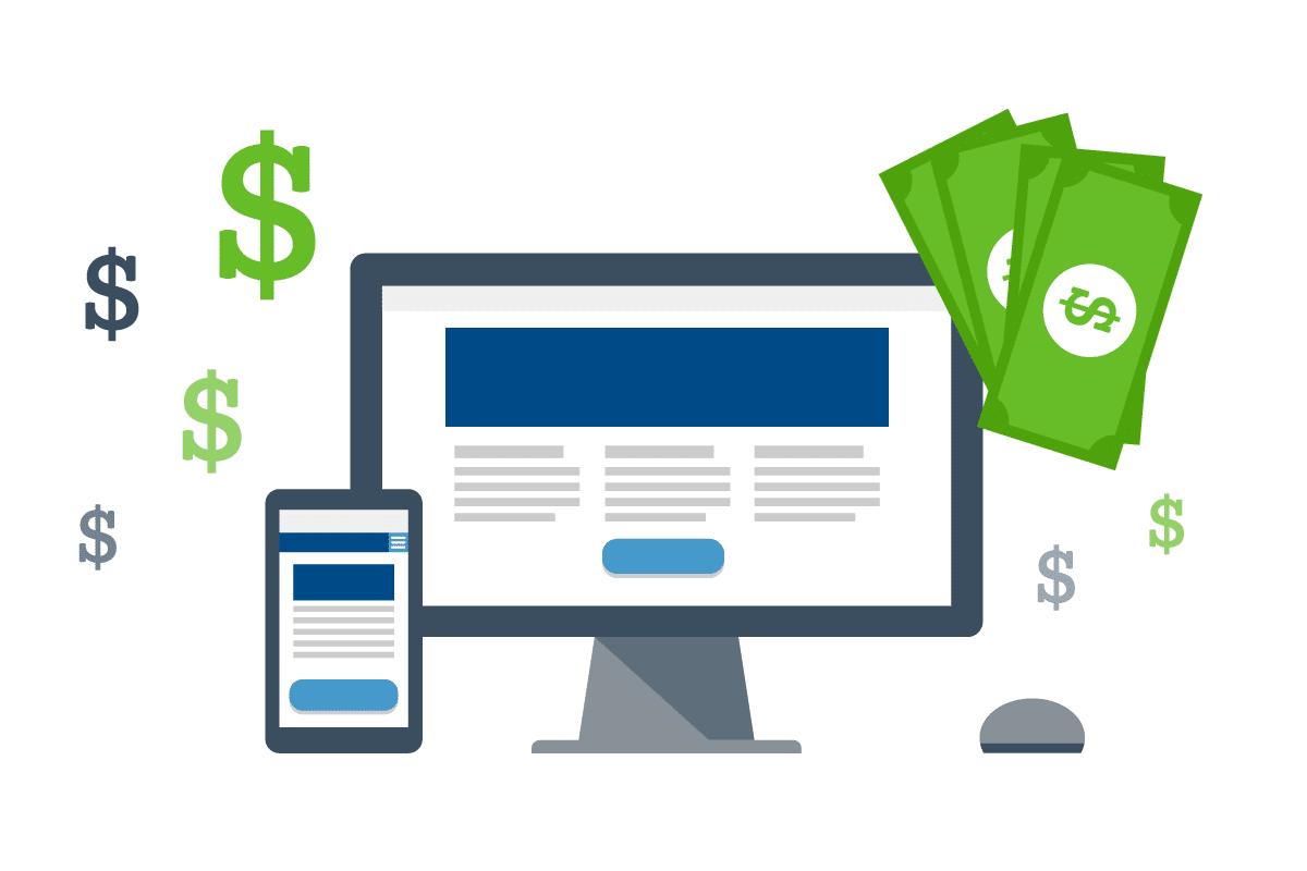 تكلفة إنشاء موقع إلكتروني