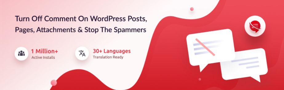 2 – إضافة Remove Comments & Protect From Spam