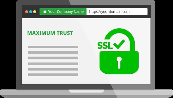 2 – استخدام شهادة SSL لتشفير البيانات