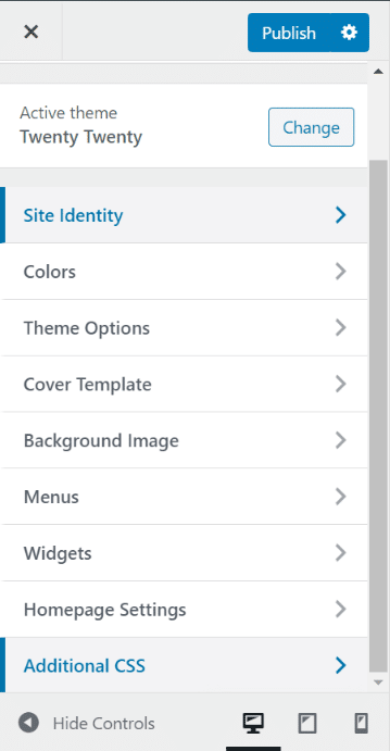 إضافة أكواد CSS للووردبريس 2