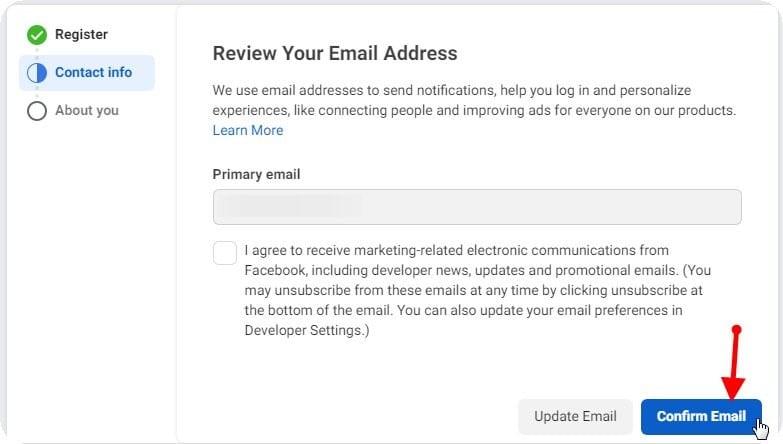 3 صحّة بريدك الإلكتروني