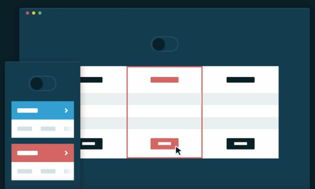 8 – CSS responsive pricing tables