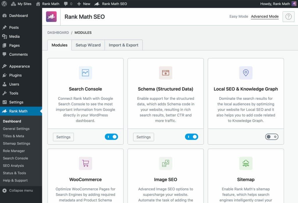 كل ما يخص إضافة Rank Math SEO بالإصدار المجاني والمدفوع