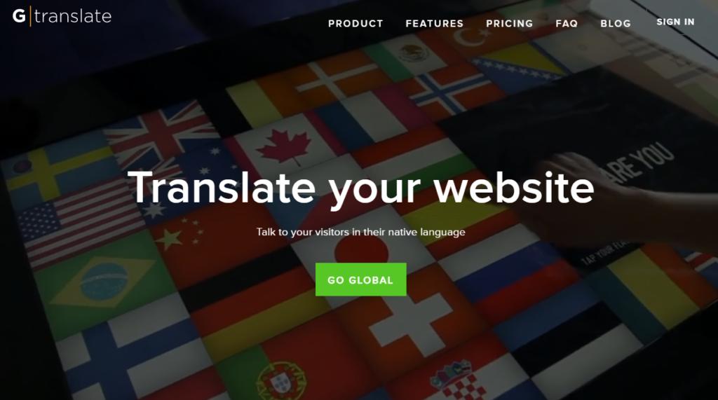إضافة Gtranslate