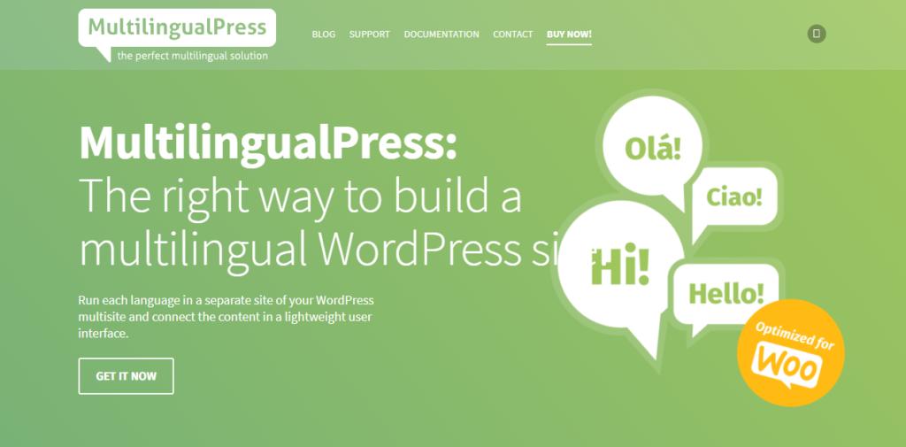 إضافة MultilingualPress