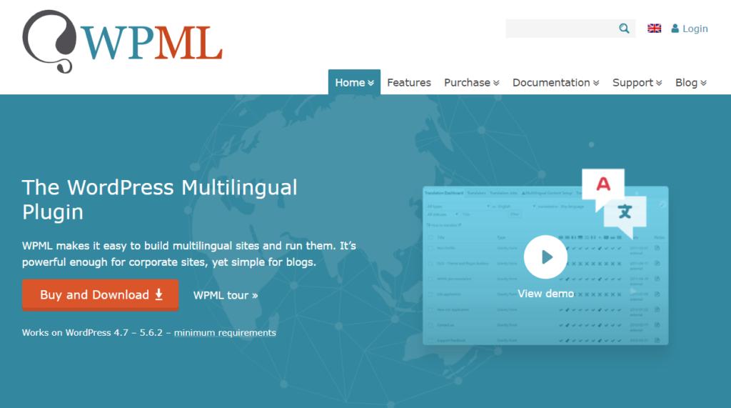 إضافة WPML