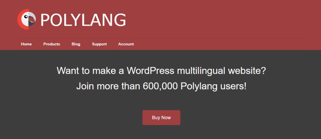 الصفحة الرئيسية لبولي لانج