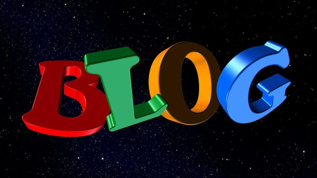 المدونة Blog