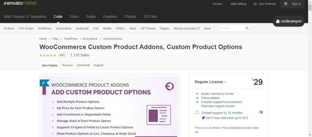 12 2 – WooCommerce Custom Product Addons Custom Product Options