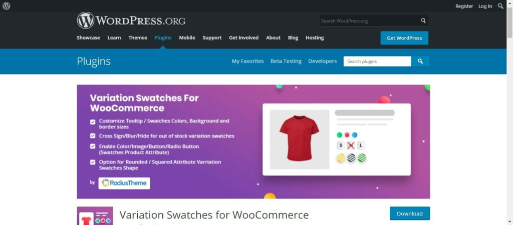 15 2 – Variation Swatches for WooCommerce