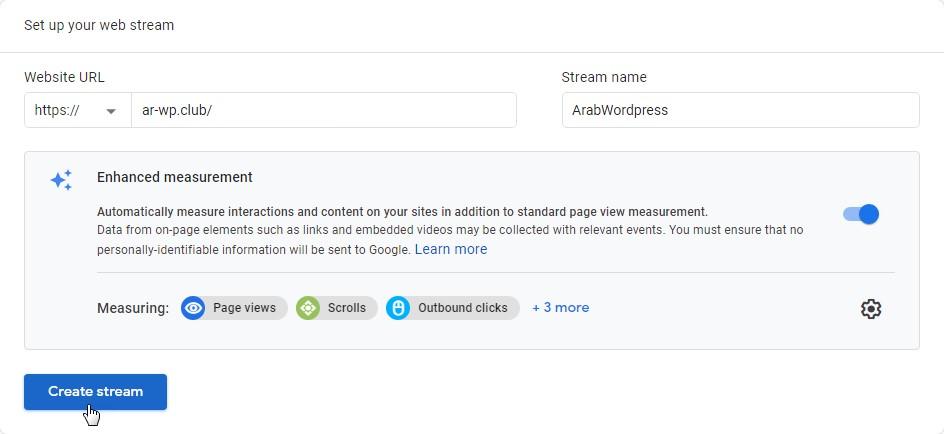 15 3 – إثبات ملكية موقع ووردبريس بطريقة إحصاءات جوجل