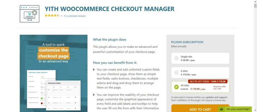 23 Yith Woocommerce Checkout Manager