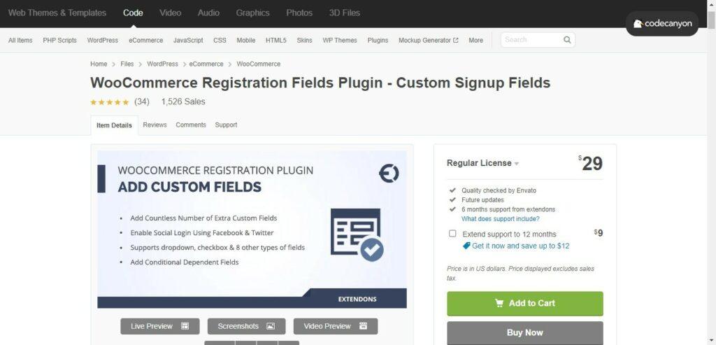 8 1 – WooCommerce Registration Fields Plugin Custom Signup Fields
