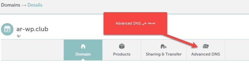 9 5 – إثبات ملكية موقع ووردبريس بطريقة موفّر النّطاق (Domain Name Provider)