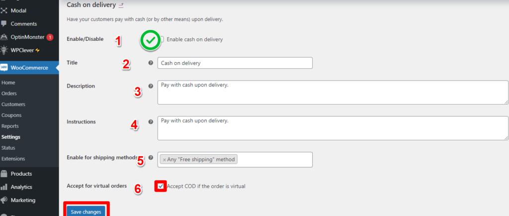 الدفع عند الاستلام Cash on Delivery 3