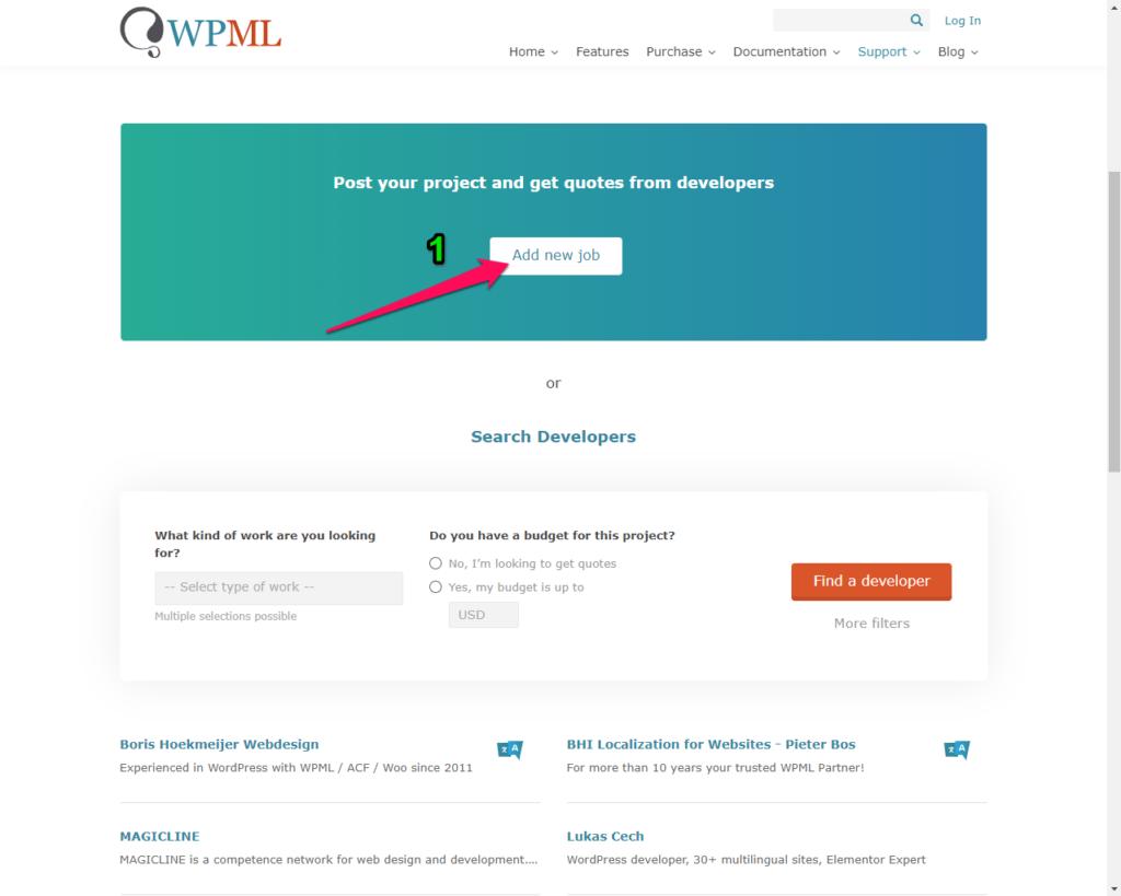 متعهدي WPML المُعتمدين