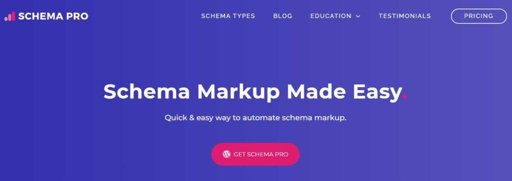 إضافة سكيما برو schema pro من شركة استرا