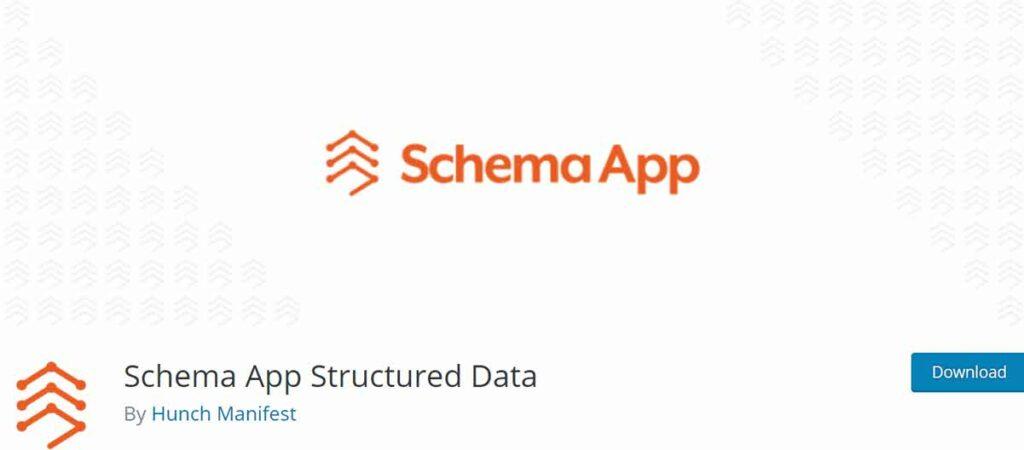إضافة Schema App Structured Data