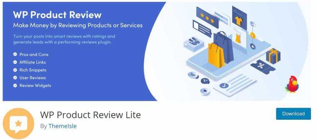 إضافة WP Product Review