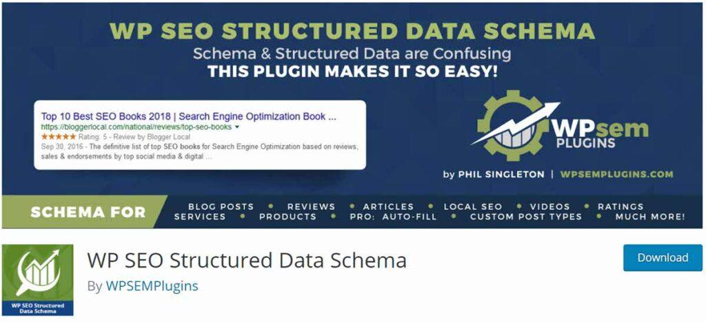 إضافة WP SEO Structured Data Schema