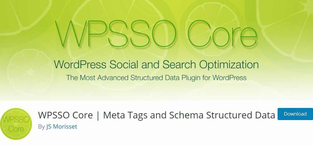 إضافة WPSSP Core - Meta Tags and Schema Structured Data