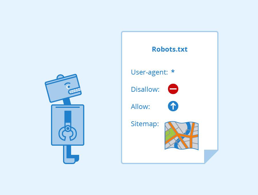 صورة تعليمات Robots-txt