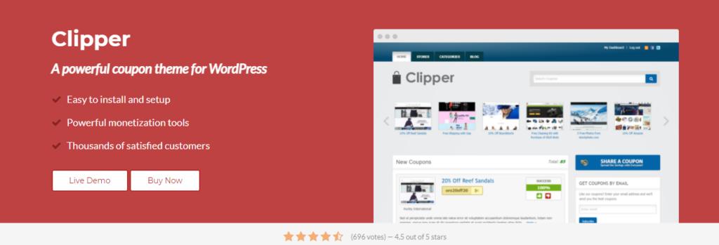 قالب Clipper