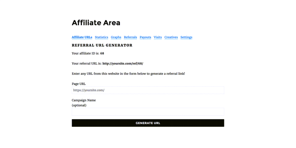 affiliatewp-affiliate-area