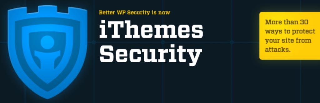 إضافة ithemes security