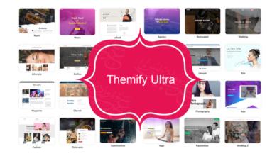 Themify Ultra متعدد الأغراض ولماذا يعتبر خيار مثالي لمواقع الووردبريس