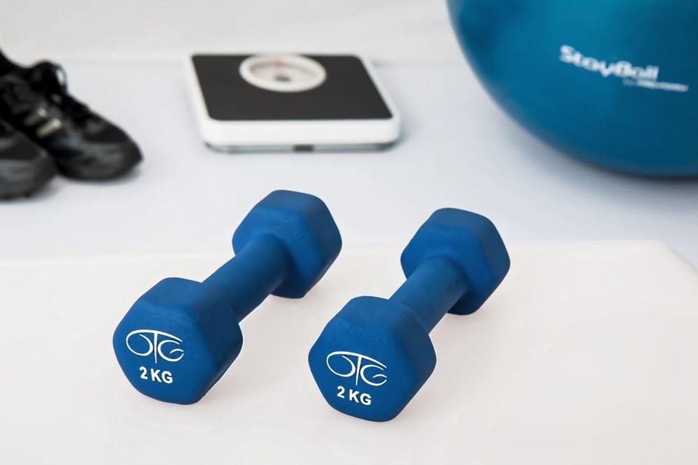 موقع اللياقة البدنية (Fitness Website)