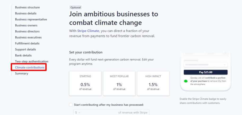 9 – الاشتراك في نظام محاربة تغير المناخ