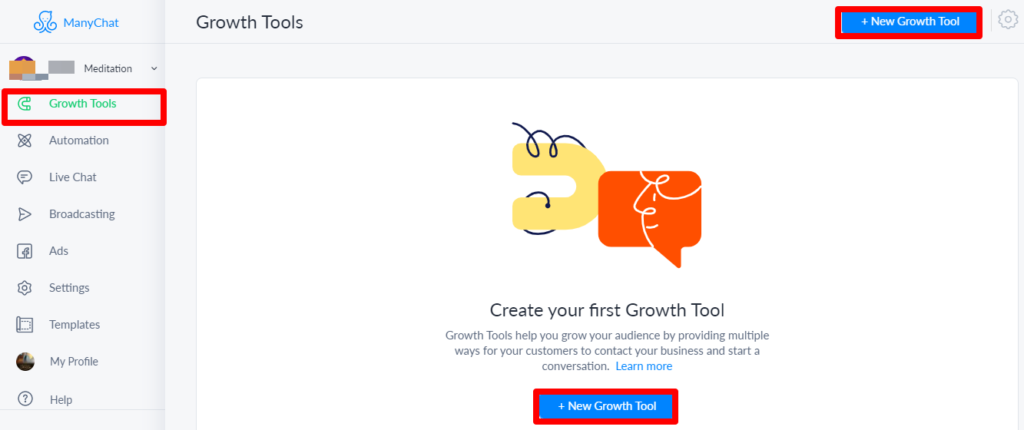 manychat Growth Tools