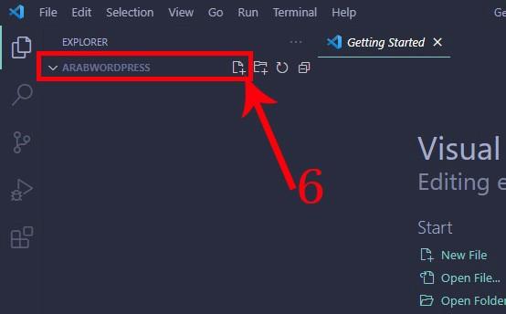 visual stdio code - open folder from xampp localhost on the exe