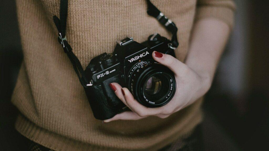 استخدم كاميرا احترافية قدر الإمكان