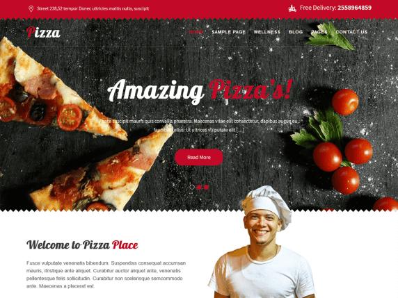 قالب Pizza Lite