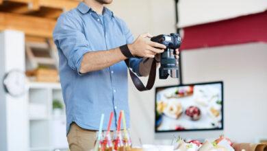 10 قواعد تصوير المنتجات