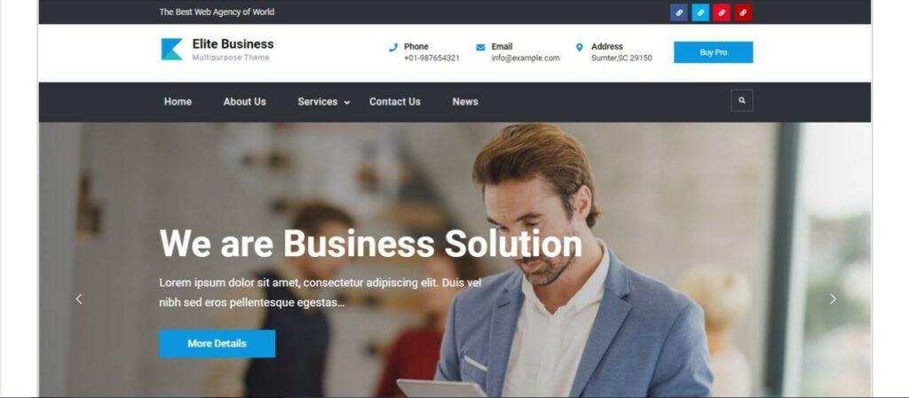 11 – قالب Elite Business
