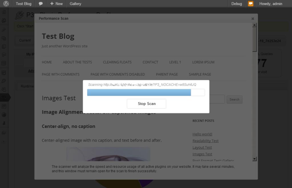test blog لإيجاد الاضافات التي تؤثر على السرعة