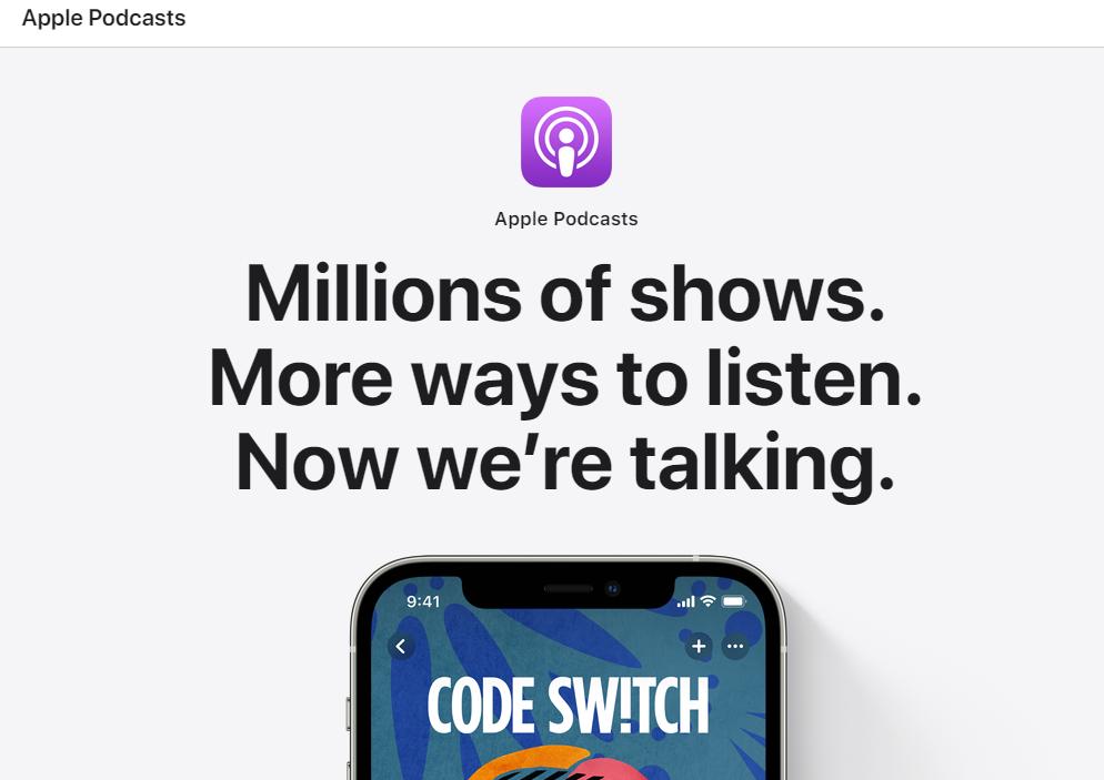 آبل بودكاست Apple Podcast