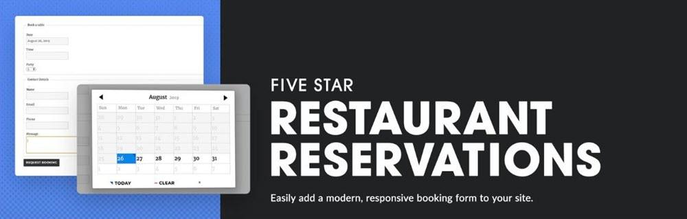 إضافة Five Star Restaurant Reservations